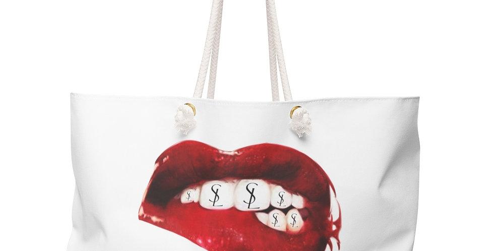SL Mouth Weekender Beach Bag