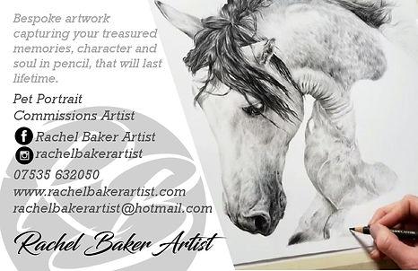 Rachel Baker Artist Business Card