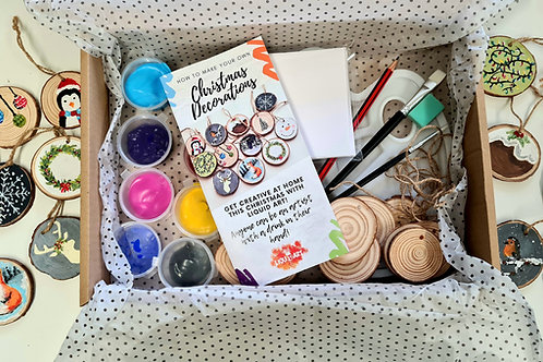 Make your Own Christmas Decorations Gift Box!