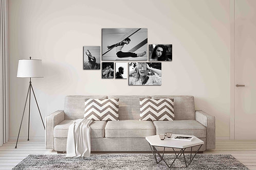 Cherry Blossom 6 Piece Canvas Combo