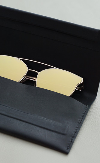 Leather Glasses Case