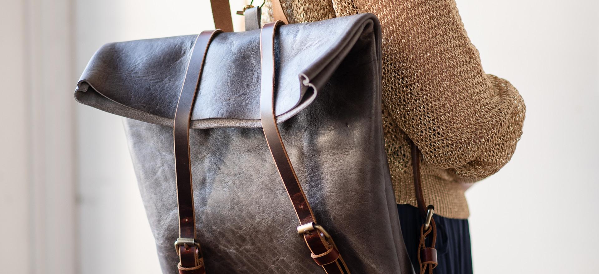 Edward Leather Backpack