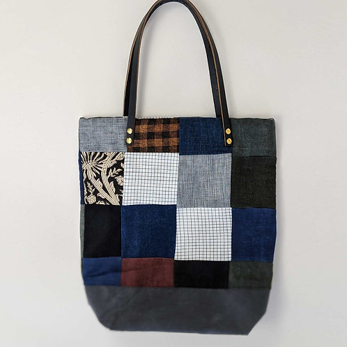 One of a Kind Patchwork Tote