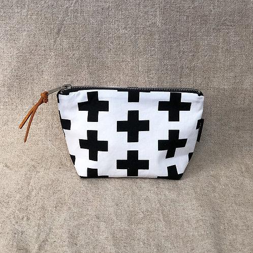 Scandinavian Cross Fabric Makeup Bag