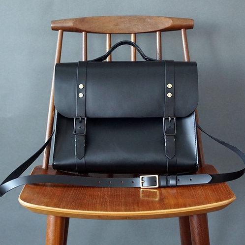 Josephine Satchel/Backpack - Black