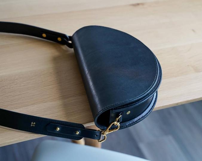 Demi-Lune Crossbody Bag