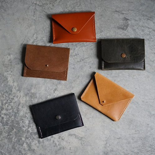 Minimalist Leather Wallet - Esther