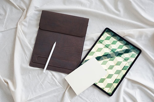 iPad Leather Case with Pen Pocket
