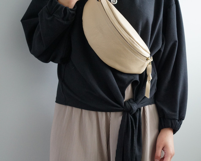 Sandie Leather Fanny Pack
