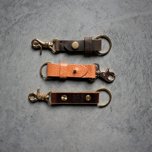 Heavy Duty Leather Key Chain