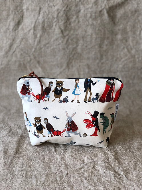 Alice in the Wonderland Pouch