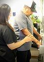 Dr. Gloria Daravida Family Chiropractic and Wellness Senior Chiropractic Adjustment and We