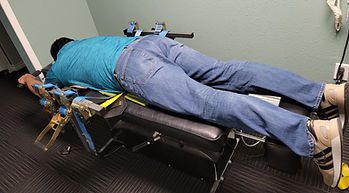 chiropractor amarillo Daravida Family Chiropractic and Wellness Amarillo Spinal Decompression table