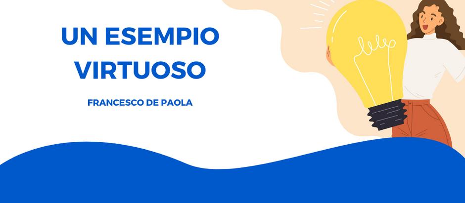 FRANCESCO DE PAOLA AI VERTICI DELLA CLASSIFICA - ESEMPIO VIRTUOSO