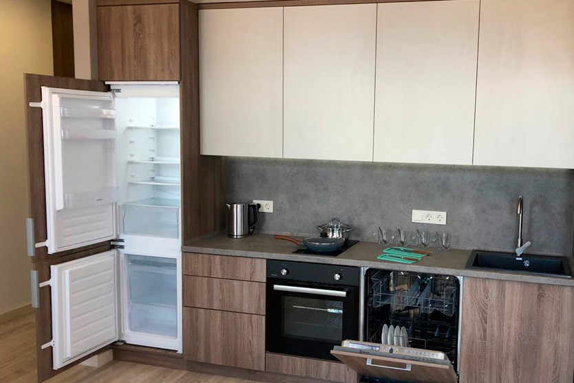 Superior One Bed Room Apartment с балконом