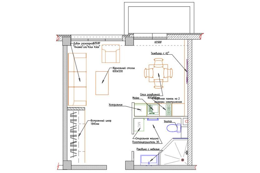 Superior Studio с балконом