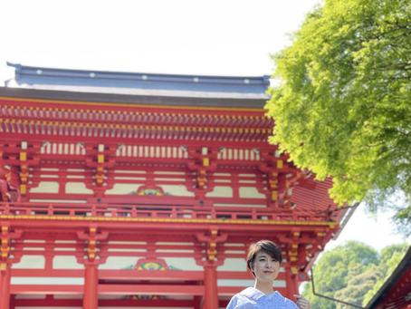初夏の近江神宮へ