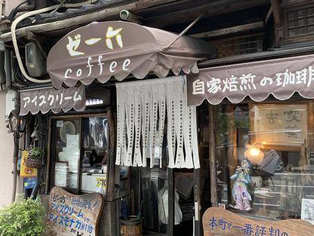 絶品アイス最中が名物の懐かしの超レトロ喫茶店@ゼー六・堺筋本町