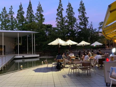 水辺のテラスで♪@Basilico・ハイアットリージェンシー大阪