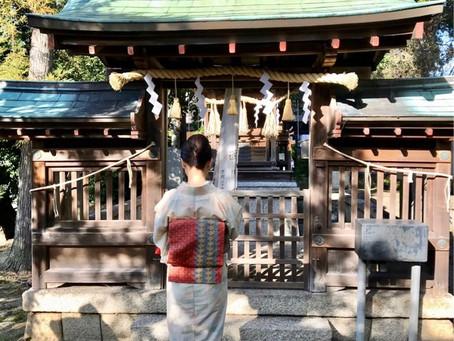 悲恋の武将の妻、勾当内侍の墓@野神神社(勾当内侍の墓)・堅田