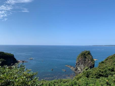 能登旅行①海辺の奇石たち