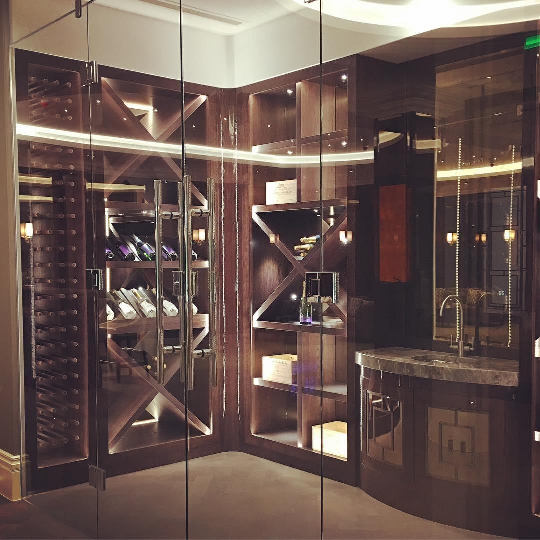 Lindencroft - wine room