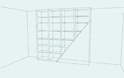 Lysias Road - Bookcase~