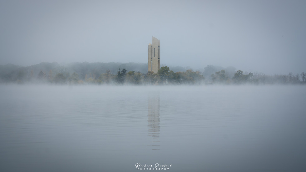 Mists of Lake Burley Griffin