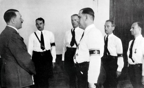 Kuhn with Hitler, ca.1940