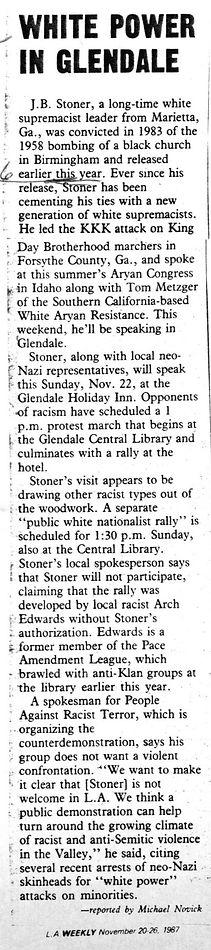 White power in Glendale (1987, Nov 20).j