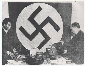 Raid of the Aryan bookstore, 1942