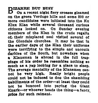 Bizarre but busy (1924, Jul 18)
