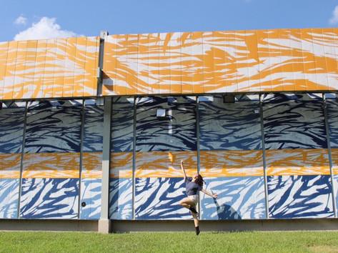 Duke mural. Durham 2018.