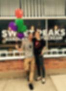 Sweet Peaks Montana Ice Cream owners Whitefish Montana