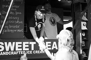 Sweet Peaks Montana Ice Cream mobile Whitefish Montana