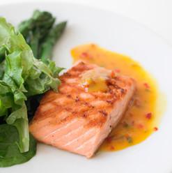 Braisée saumon sauvage
