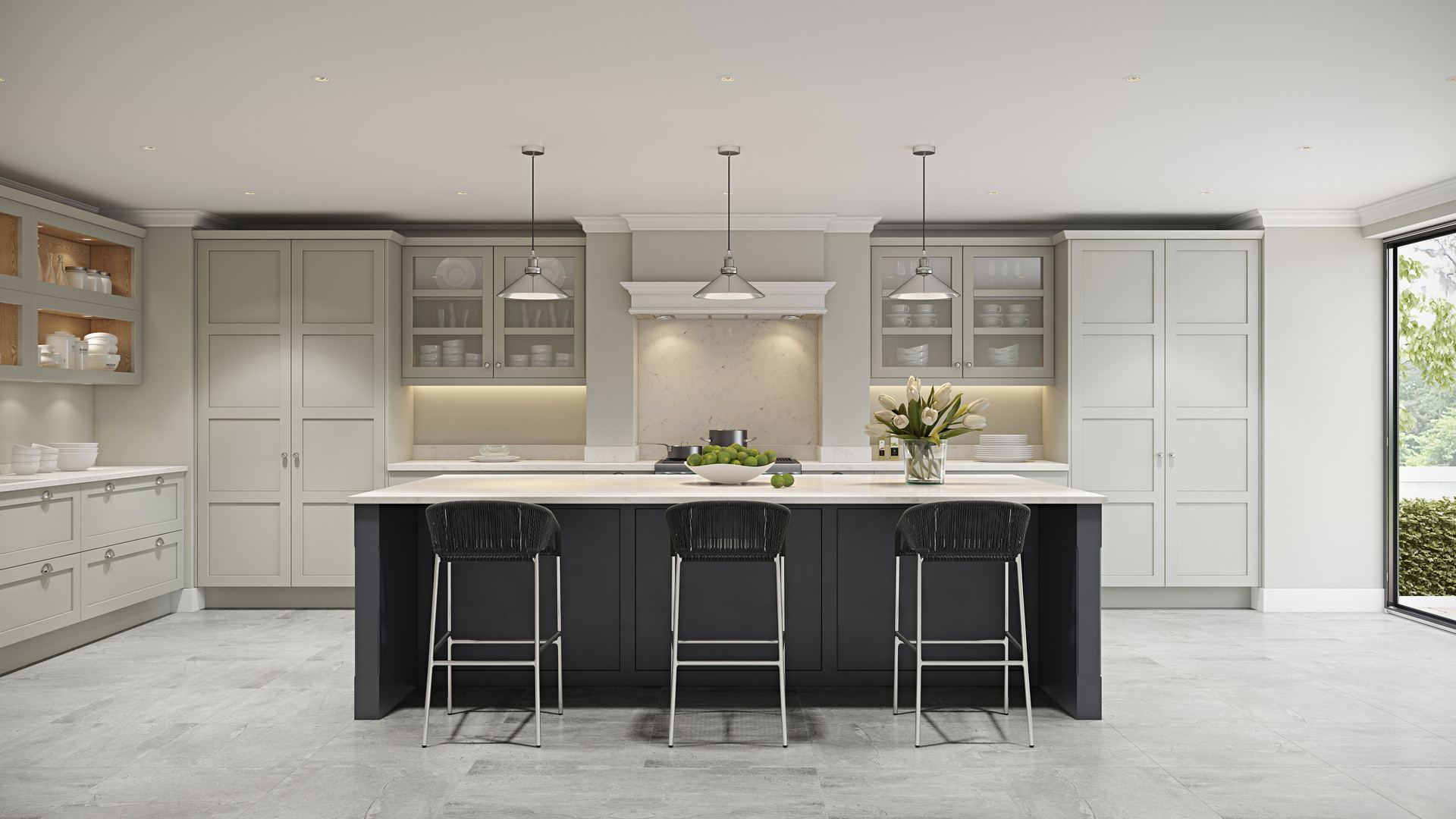 Galley_Kitchen_in_Fenix_and_Deda_stained