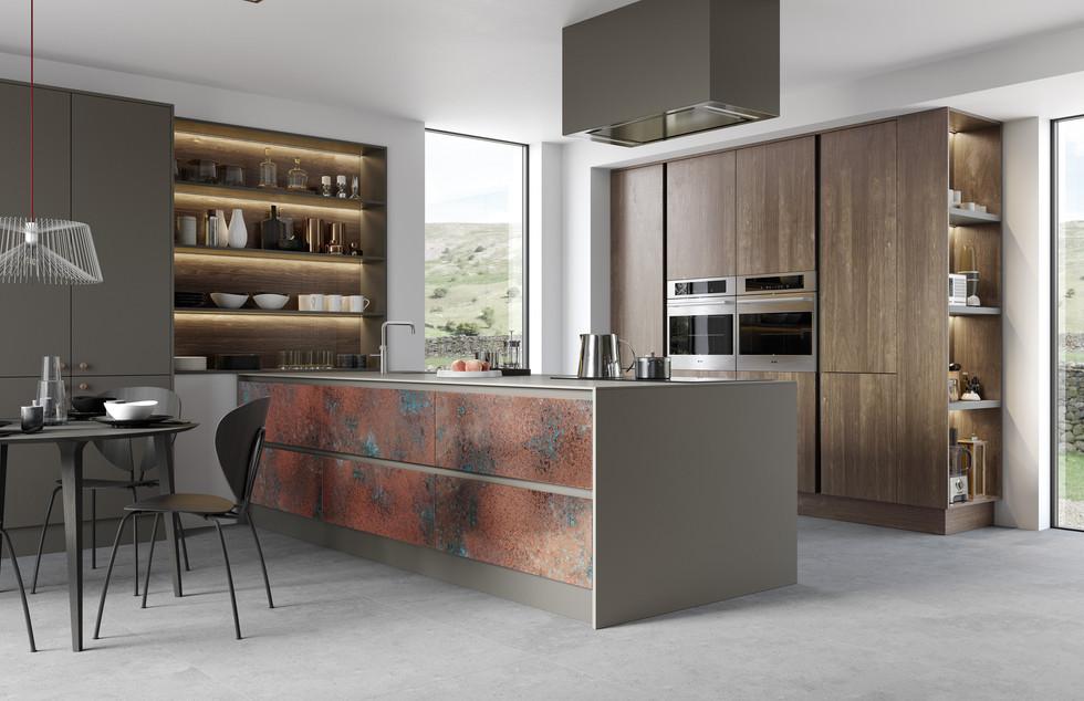 Ferro Oxidised Copper with Essece