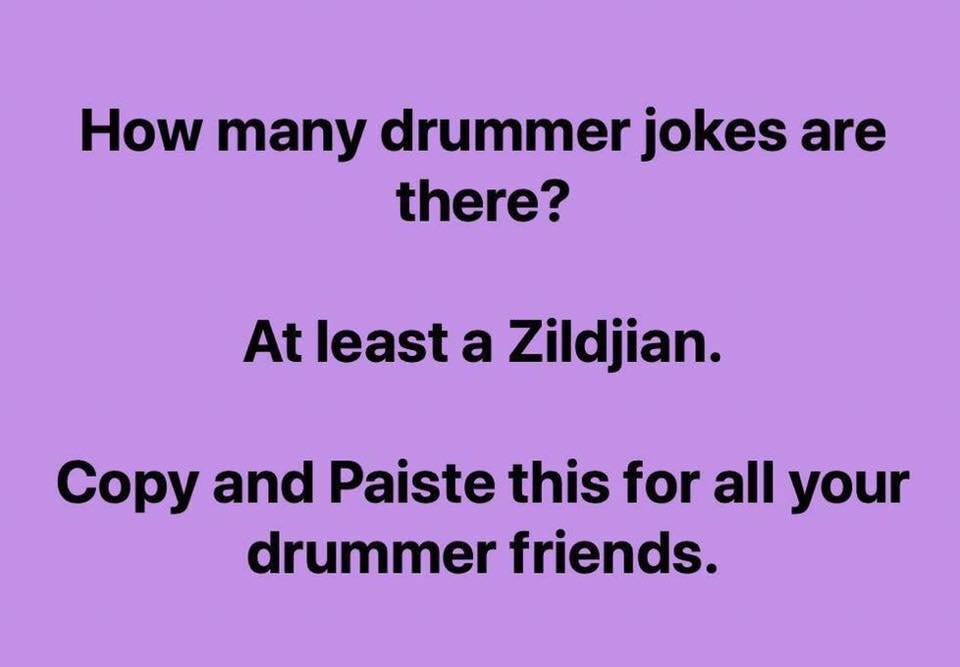 Percussion Dad Joke