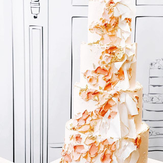 Our 4 tier beauty standing tall at the @