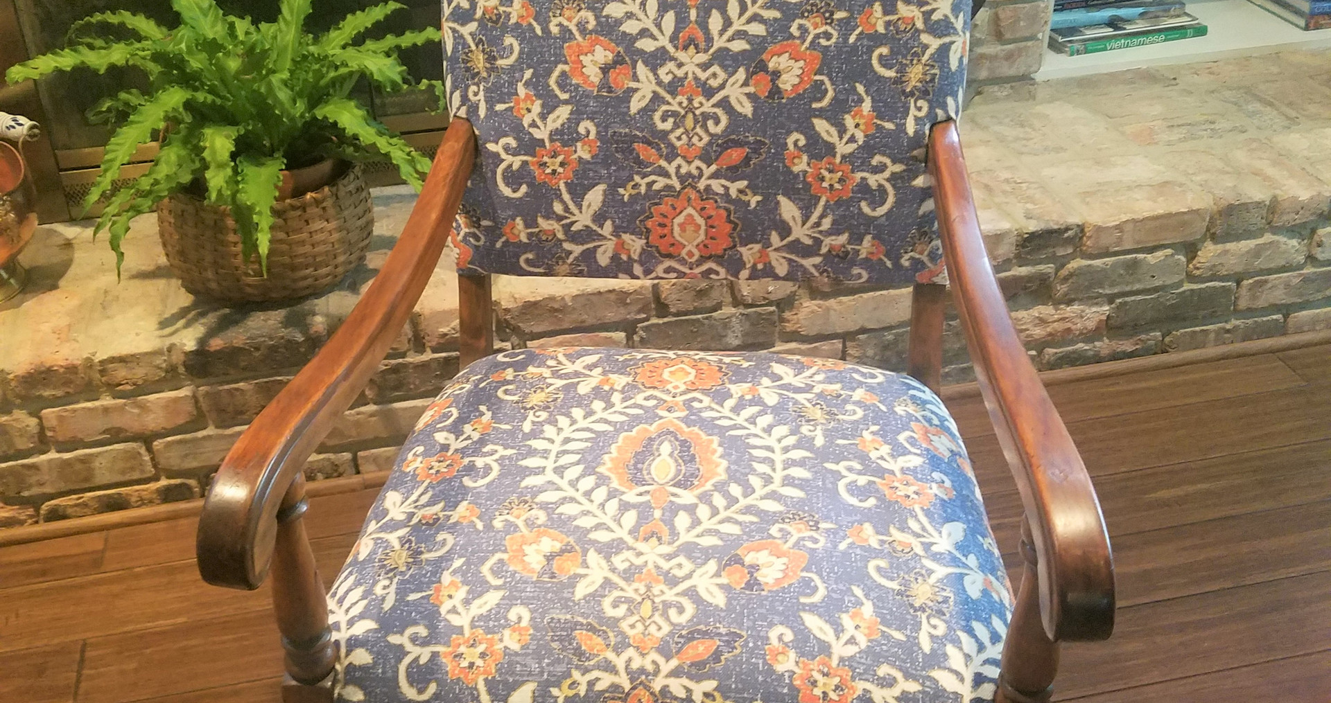 Reupholstered by LHB in Sorrento, FL