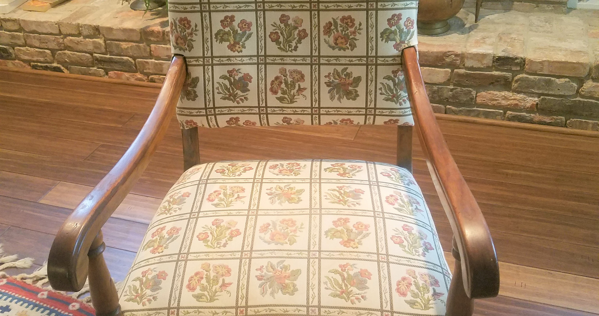 Antique chair in need of updating