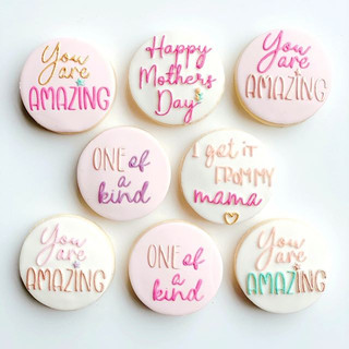 Our Mother's Day cookies have landed and