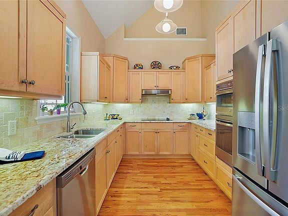 Kitchen with new counter, appliances and