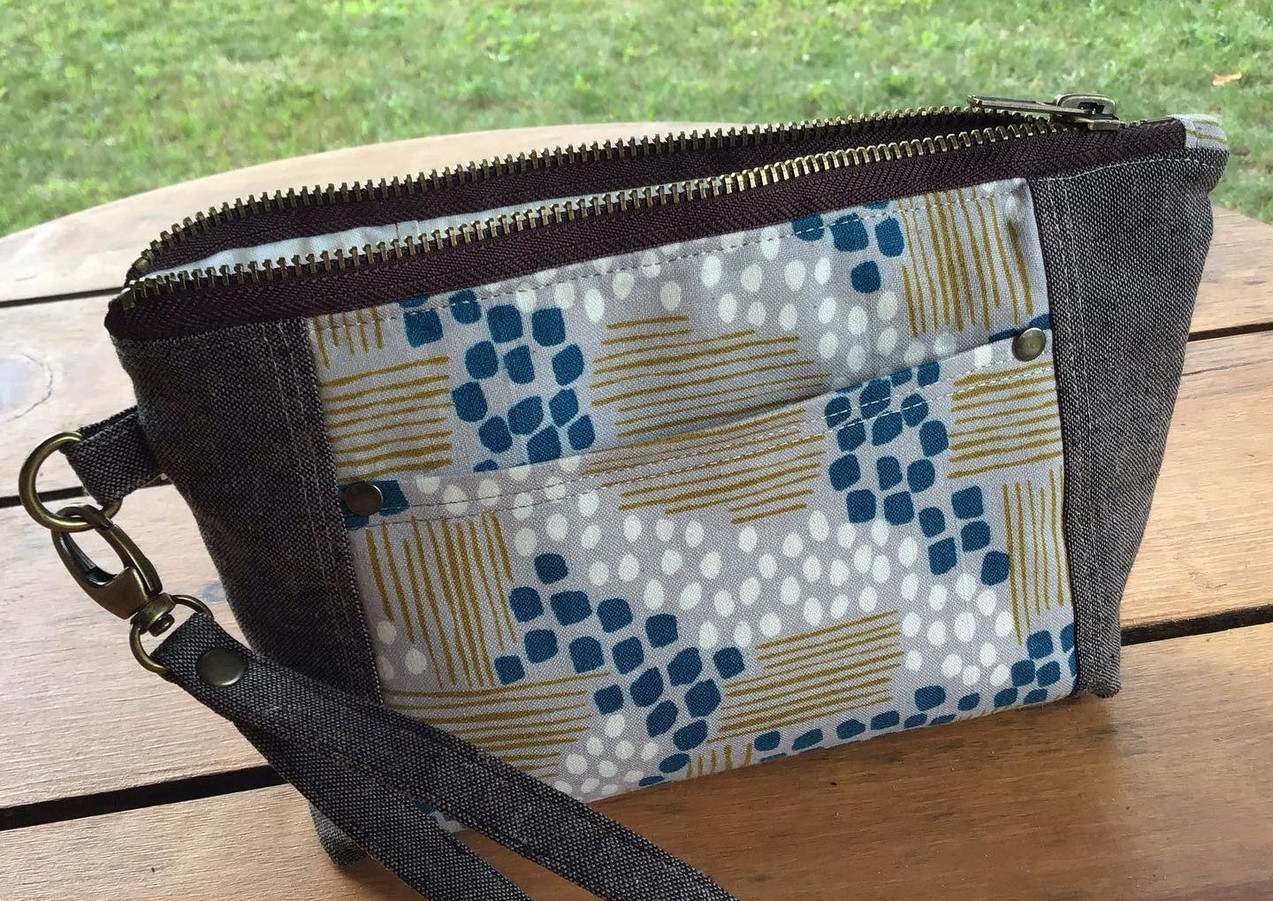 Norfolk Pouch by Sotakehandmade
