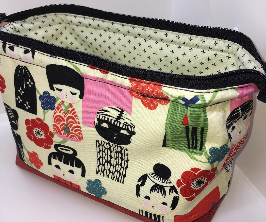 Japanese Cosmetic Bag