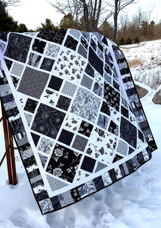 Gimme Diamonds from Four Paws Quilting.j