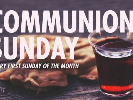 FAMILY COMMUNION SUNDAY