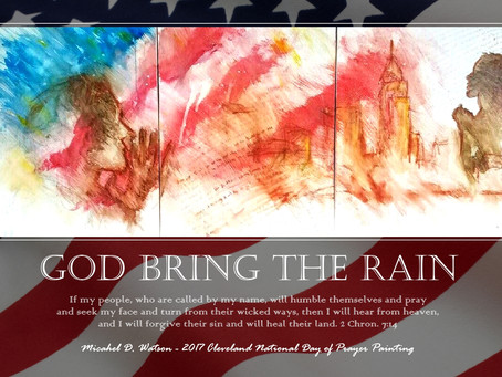 National Day of Prayer Painting & New Print!