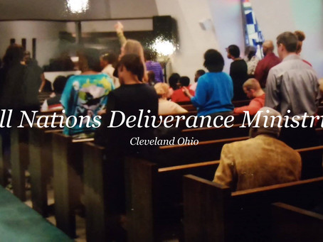 Friday: Michael Preaching at All Nations Deliverance Ministries